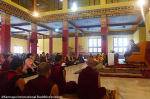 KIBI Shamatha meditation couse 2012: Opening Day