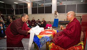 Ven. Maniwa Sherab Rinpoche's visited KIBI