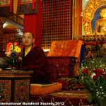Venerable Dupsing Rinpoche joined the Sojong Retreat at KIBI