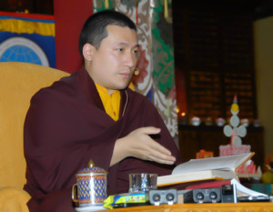 Special session on meditation with His Holiness Gyalwa Karmapa