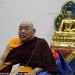 H.E. Beru Khyentse Rinpoche in KIBI