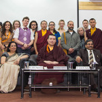 H.H.17th Karmapa Visits the Mewar Institute, Ghaziabad U.P.