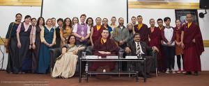 H.H.17th Karmapa Visits the Mewar Institute, Ghaziabad U.P.