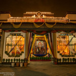 Shamar Rinpoche'sLokhorDechod(Death AnniversaryPuja) in KIBI, New Delhi