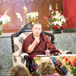 His Holiness Gyalwa Karmapa Teaches on Merit and Wisdom