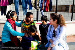 Visiting the National Blind School