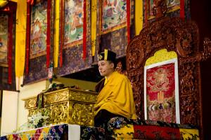 Opening of the Karmapa Public Course 2016 at K.I.B.I.