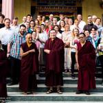 European Pilgrims meeting H.H. Gyalwa Karmapa