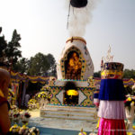 Cremation Ceremony for H.H. Jigdal Dagchen of the Sakya Lineage
