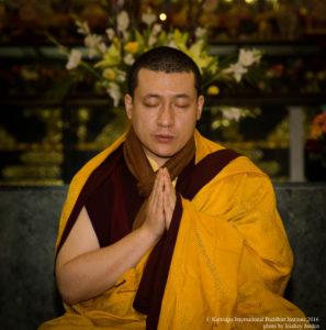 The annual Public Meditation Course at KIBI has begun