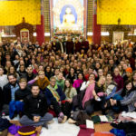 Completion of the 5th Public Meditation Course, 2016.