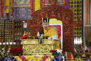 The annual Karmapa Public Course at KIBI has begun