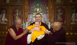 Public audience of His Holiness Gyalwa Karmapa's heir and  conclusion of the KIBI Meditation Course.