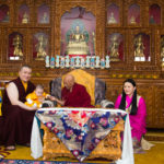H.E. Kyabje Dorje Chang LUDING KHENCHEN RINPOCHE PRESIDED OVER THE HAIR-CUTTING CEREMONY OF THUGSEY-LA